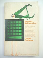 FANTASIA MATHEMATICS: BEING A SET OF STORIES...EDITED BY CLIFTON FADIMAN 1965 PB