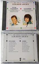 DEUTSCHES SCHLAGER-ARCHIV (A) Peter Alexander/Alexandra .. Rare 1988 Club CD TOP