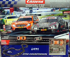CARRERA 30181 1/32 scale DTM COUNTDOWN electric Digital slot car race track Set
