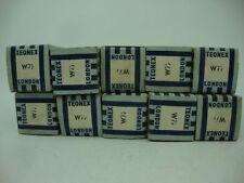 10 X W77 TEONEX TUBES. 1950´S VERSION. EF92 GEC VERSION, NOS/NIB TUBES.