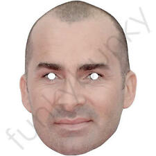 Louie Spence Celebrity Card Face Mask - All Our Masks Are Pre-Cut!