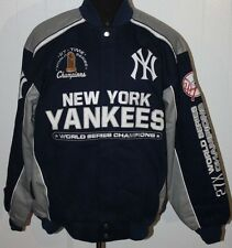 New York Yankees 27 Time World Series Champions Cotton Twill Jacket - 3X