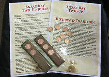Anzac day Aussie Two-Up Game kits for pubs and clubs and BBQs.