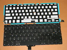 "Neuf Français MacBook Pro 13"" A1278  FR French Keyboard & backlight  CLAVIER"