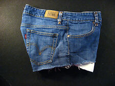 LEVIS 537 Low Flare CUTOFF JEAN SHORTS Cut Off W 30 Denim Low Rise Daisy Duke
