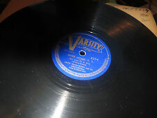 78RPM Varsity 8374 Jack Teagarden, v David Allen, River Home E/ Now Lay Me V V+