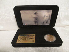 Mickey Mantle New York Yankees Highland Mint Bronze Coin Motion Card Set