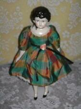 ANTIQUE DOLL SIGNED GERMANY CHINA HEAD ARMS AND LEGS ORIGINAL DRESS  (B)