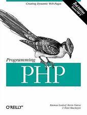 Programming PHP Lerdorf, Rasmus, Tatroe, Kevin, MacIntyre, Peter Paperback