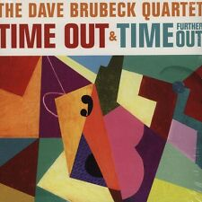Dave Brubeck Quartet TIME OUT & TIME FURTHER OUT 180g GATEFOLD New Vinyl 2 LP