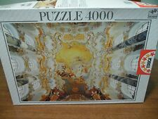 "Educa The Wieskirche 4000 Piece Jigsaw Puzzle #11056 Complete 53 "" x 37"""