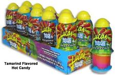 10 PC Lucas Pelucas Tamarind flavor hot mexican candy push up Dulce Free Ship