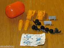 Vintage Kinder Egg toy - UNUSED F1 car/space ship from 1986 + paper
