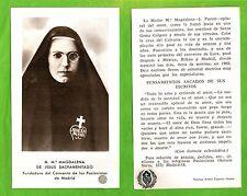 Reliquia Santino Reliquiario – Venerabile Maria Maddalena di Gesù Sacramentato