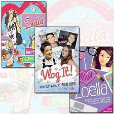 Vlog It!,I Heart Zoella & The Zoella Generation Collection 3 Books Set By Tbc