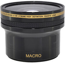 0.14x WIDE ANGLE MACRO LENS FOR Canon EOS Rebel 7D 6D T6S & NIKON D5500 D5000 HD