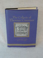 C. Frederick Barbee THE COLLECTS OF THOMAS CRANMER William B. Eerdmans c. 1999
