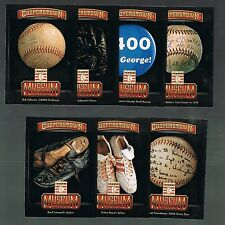 WALTER JOHNSON's Glove #14   Museum Pieces 2013 Panini cooperstown