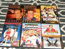 LOT OF 6 WILL FERRELL DVDS