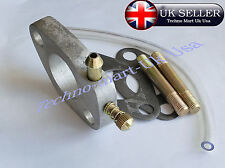 new ROYAL ENFIELD BULLET 350CC ALLOY CARBURETTOR FLANGE ASSEMBLY KIT @ Uk