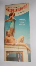 Vtg Brochure Planning Your Southern California Vacation 1947 All-Year Club CA