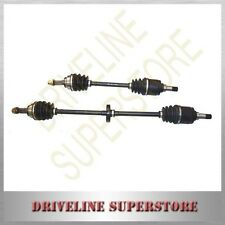 A SET OF TWO NEW CV JOINT DRIVE SHAFTS FOR FORD FESTIVA WF 1.5L MANUAL 1998-2001