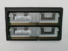 Lot of 2 Samsung 1GB 2Rx8 PC2-5300F-555-11-B0 Ram Memory