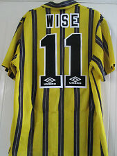 Chelsea 1993-1994 Wise 11 Third 3rd Football Shirt Size Adult Large /40196