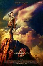 THE HUNGER GAMES: CATCHING FIRE ORIGINAL 27x40 MOVIE POSTER (2013) LAWRENCE