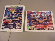 LOT OF 2 1999/2002 UAW-GM 500 NASCAR RACE PROGRAMS,CHARLOTTE ,N.C.,GORDON,DALE