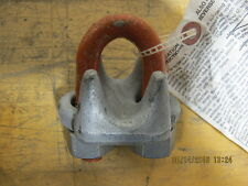 "(2) 3/4"" CM Columbus McKinnon M252 Wire Rope Cable Clamp Clip USA NEW FF-C-450,"