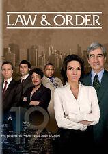 Law & Order: Season 19 (DVD, 2015, 5-Disc Set)