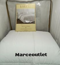 RALPH LAUREN Bronze Comfort 100% Cotton FULL / QUEEN Down Alternative Comforter