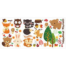 Forest Animals Kids Room Wall Stickers Mural Removable Vinyl Art Decal 63 * 30cm