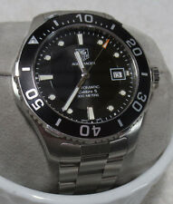 Tag Heuer Automatic Mens Watch WAN2110 sweet Aquaracer Calibre 5 2012 Mens