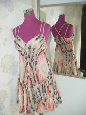 Stunning  All Saints Ikat Dress  Size 12 (10-14)  Excellent Condition