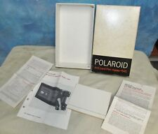 Vintage POLAROID #545 Film Holder Empty Box & Paperwork/Instructions Only J184