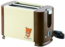 San-X Rilakkuma Pop-up Toaster bread 2 sheets type Free Shipping from Japan