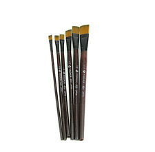 6PCS Nylon Acrylic Oil Paint Brushes For Art Artist Supplies Watercolor Durable