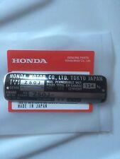 Honda Z50 Monkey Bike Frame Plate Z50J