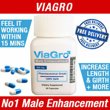 VIAGRO MALE SEX PILLS PENIS ENLARGEMENT TESTOSTERONE LIBIDO VIRILITY ENHANCEMENT