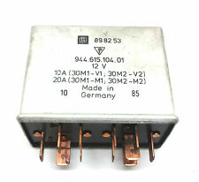 Genuine Porsche 944 & 968 Radiator Twin Cooling Fan Relay For Cars With Aircon