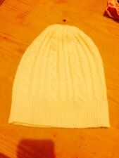 Ladies Wooly Hat Cream One Size