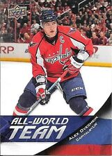 11/12 Upper Deck All World Team Insert #AW40 Alex Ovechkin
