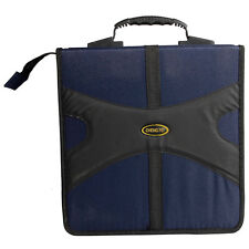 Pragmatic 320 Disc CD VCD DVD Storage Holder Case Bag Blue/Black High Quali