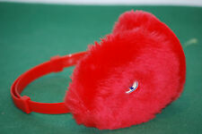 vintage invicta cuffy winter snowboard cold bag NOS earflap RED 80 90 deadstock