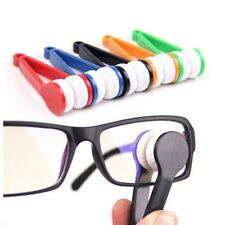 Mini Sunglasses Eyeglass Microfiber Spectacles Cleaner Brush Cleaning Wipe Tool