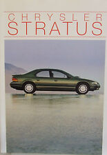 CHRYSLER STRATUS COMPLETO opuscolo 1995 23 pagine in francese