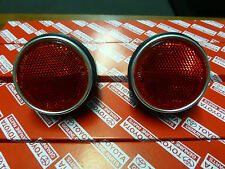 Genuine Toyota Landcruiser FJ40 Rear Corner Reflectors NEW NOS HJ45 BJ40 FJ45