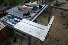 table saw - 254mm with slide - bench saw contractor with router slot